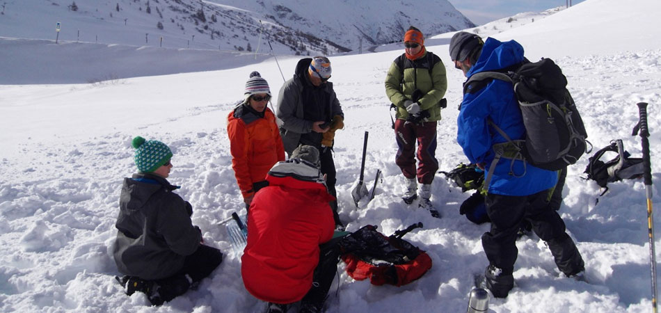 Incentive groupe Andorre avalanche