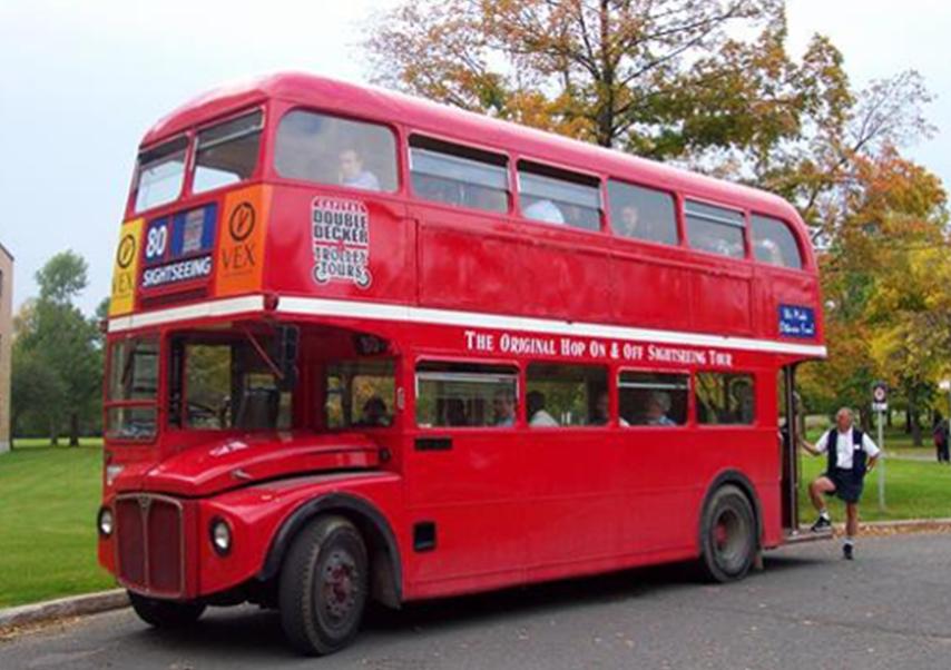 séminaire Londres bus rouge 2
