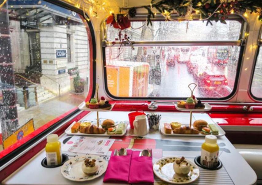 séminaire Londres bus tour vintage