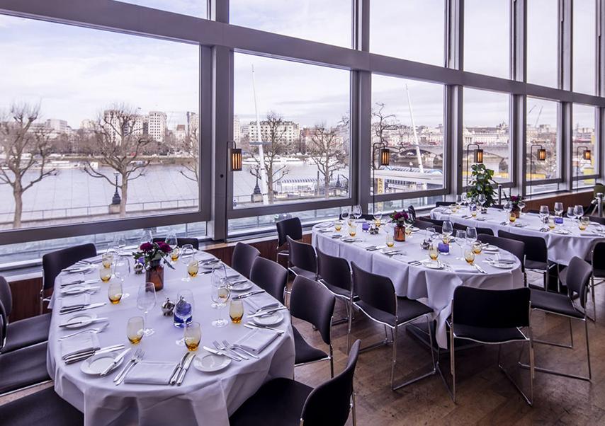 séminaire Londres restaurant
