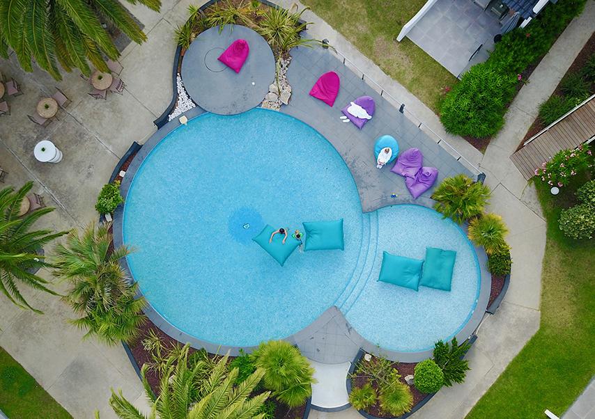 séminaire bord de mer piscine