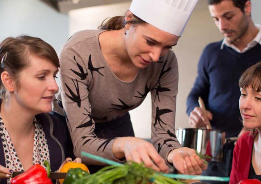 séminaire en chambre d'hôtes cuisine