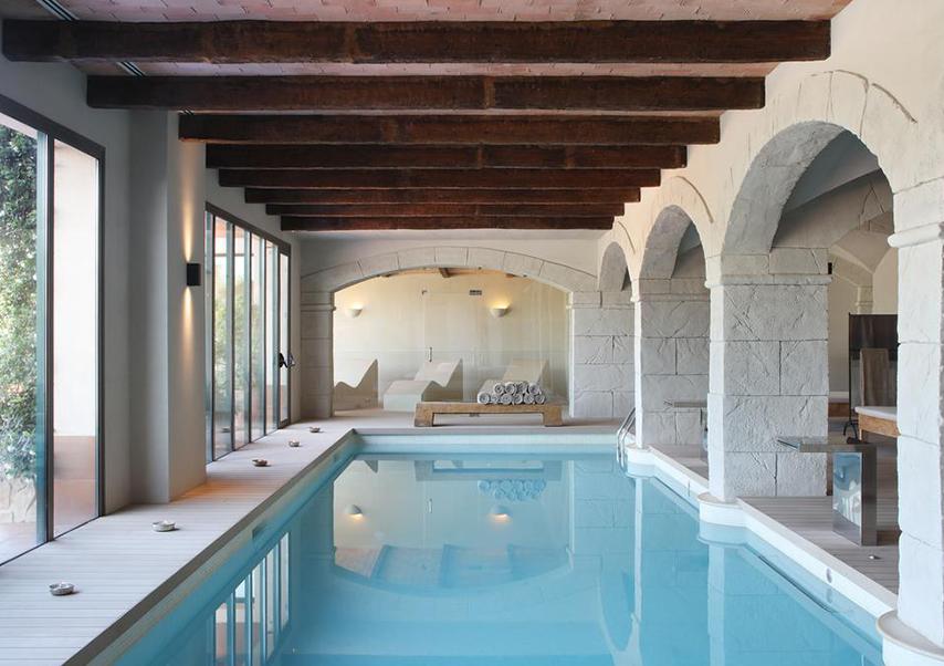 séminaire haut de gamme espagne piscine