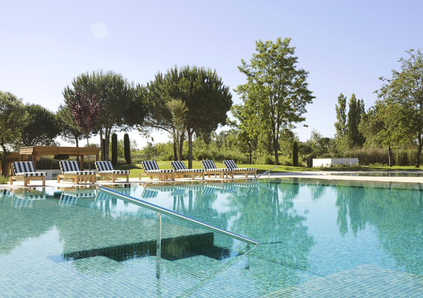 séminaire luxe espagne piscine