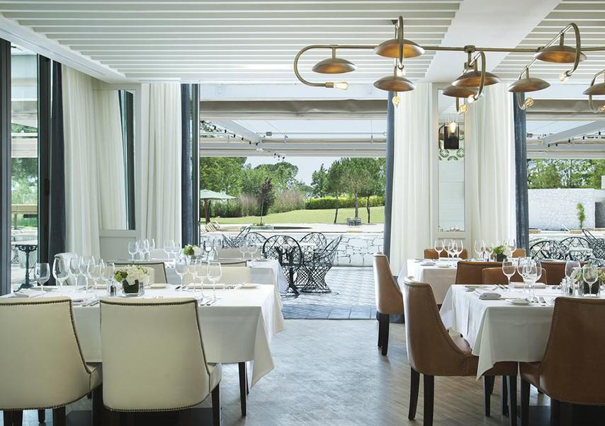 séminaire luxe espagne restaurant