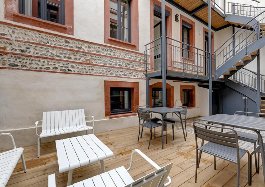 séminaire luxe toulouse terrasse