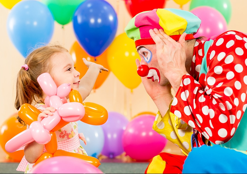 spectacle de clowns en entreprise