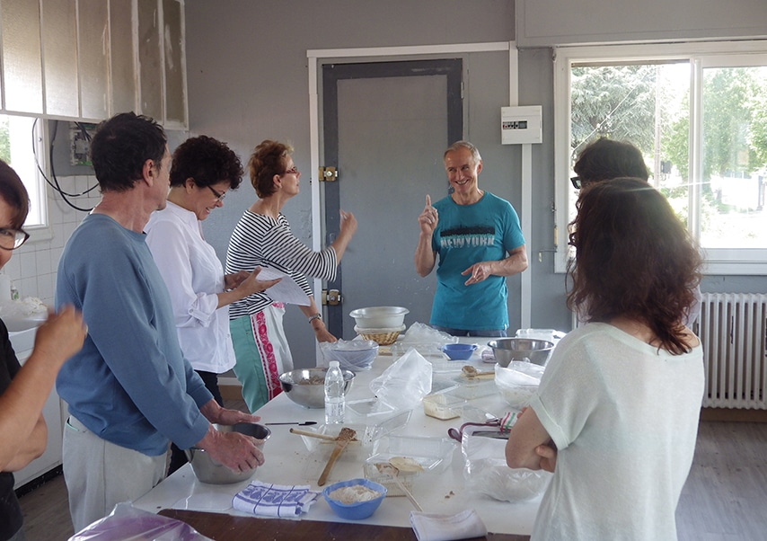 team building agriculture atelier boulangerie