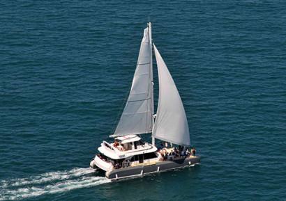 Team building catamaran en camargue