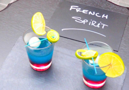 team building cocktail coloré