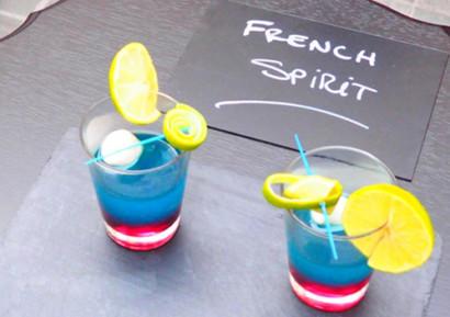 team building cocktail coloré