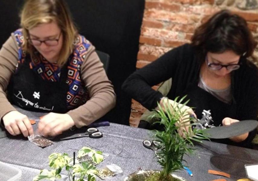 team building création objet atelier