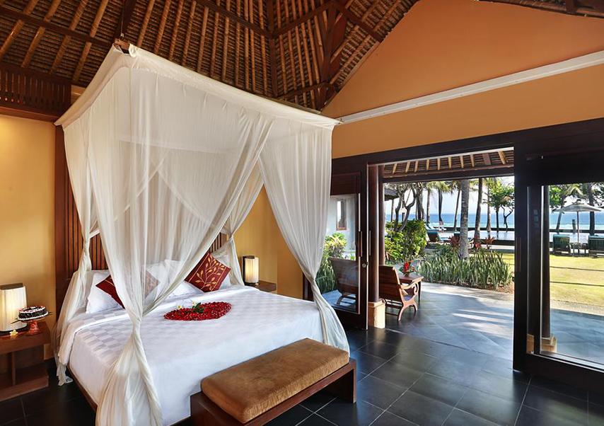 voyage entreprise Bali chambre