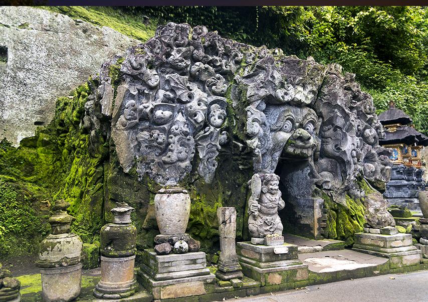 voyage entreprise Bali grotte
