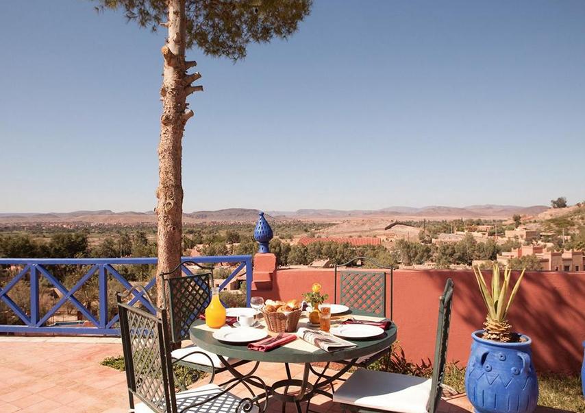 voyage entreprise desert maroc hotel petit dej